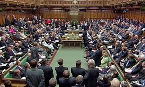 house of commons nearly full