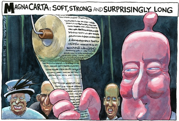 Copyright Steve Bell 2015/All Rights Reserved e.mail: belltoons@ntlworld.com tel: 00 44 (0)1273 500664