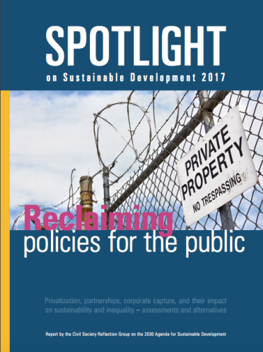cover spotlight sdg 2017 report