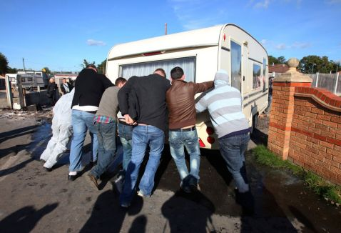 TRAVELLERS EVICTION